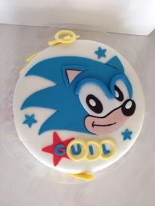 Sonic The Hedgehog Cake Dani Cakes Savannah