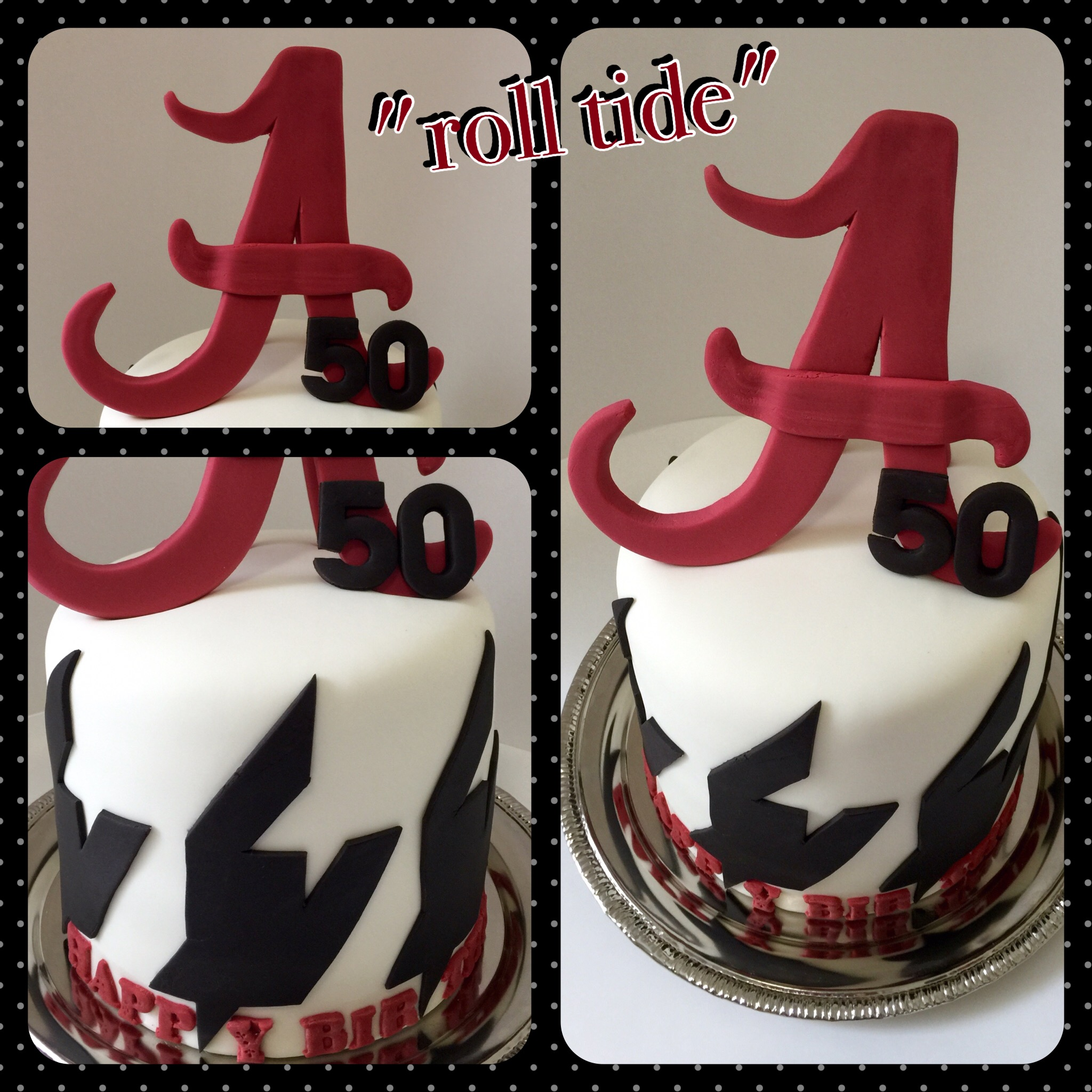 Alabama Roll Tide Dani Cakes Savannah